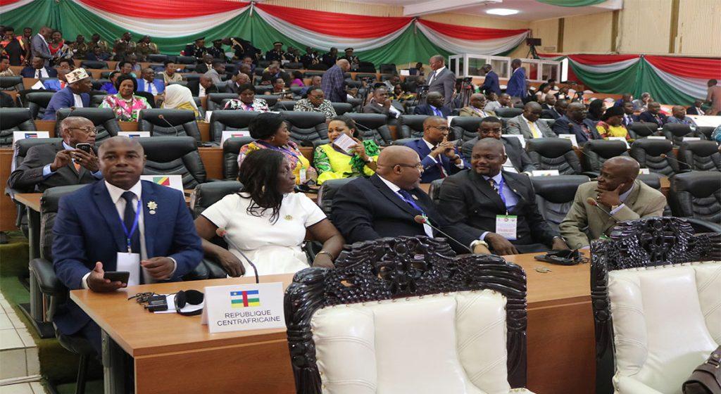 Assemblée Plénière - Forum des Parlements de la CIRGL